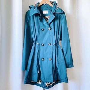 NWOT Laundry By Shelli Segal Raincoat/Light Jacket
